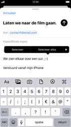 Apple iPhone 6s - iOS 13 - E-mail - e-mail versturen - Stap 8