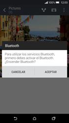 HTC One M9 - Bluetooth - Transferir archivos a través de Bluetooth - Paso 10