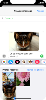 Apple iPhone 11 Pro - MMS - Envoi d