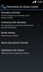 Bouygues Telecom Bs 403 - Internet et connexion - Désactiver la connexion Internet - Étape 6