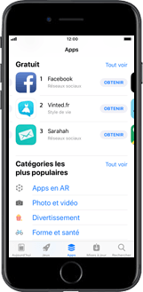 Apple iPhone XS - Applications - Créer un compte - Étape 4