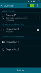 Samsung G900F Galaxy S5 - Bluetooth - Conectar dispositivos a través de Bluetooth - Paso 8