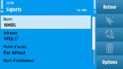 Nokia N97 - Internet - Navigation sur Internet - Étape 10