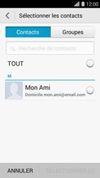 Huawei Ascend Y550 - E-mail - envoyer un e-mail - Étape 5