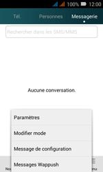 Huawei Y3 - SMS - Configuration manuelle - Étape 4