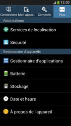 Samsung Galaxy S4 Mini - Sécuriser votre mobile - Personnaliser le code PIN de votre carte SIM - Étape 5