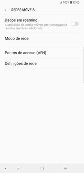 Samsung Galaxy Note9 - Internet no telemóvel - Como configurar ligação à internet -  8