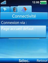 Sony Ericsson W100i Spiro - Internet - Configuration manuelle - Étape 12