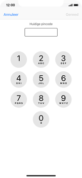 Apple iPhone X - Beveiliging en ouderlijk toezicht - Hoe wijzig ik mijn SIM PIN-code - Stap 6