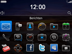 BlackBerry 9780 Bold - MMS - Afbeeldingen verzenden - Stap 2