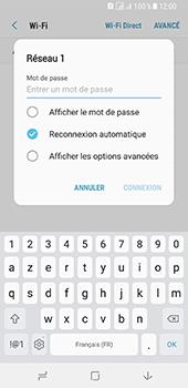 Samsung Galaxy A8 (2018) - Wifi - configuration manuelle - Étape 7