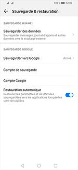 Huawei P Smart (2019) - Données - créer une sauvegarde avec votre compte - Étape 8