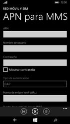 Microsoft Lumia 640 - Mensajería - Configurar el equipo para mensajes multimedia - Paso 7