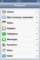 Apple iPhone 4 S - E-mail - Configuration manuelle - Étape 4