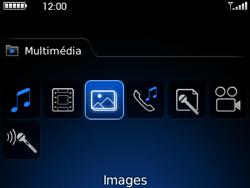 BlackBerry curve 3G - Photos, vidéos, musique - Envoyer une photo via Bluetooth - Étape 4