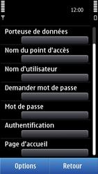 Nokia C7-00 - Internet - configuration manuelle - Étape 17