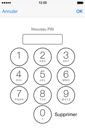 Apple iPhone 4S - Sécuriser votre mobile - Personnaliser le code PIN de votre carte SIM - Étape 9