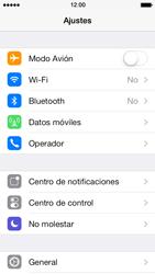 Apple iPhone 5s - Internet - Configurar Internet - Paso 3