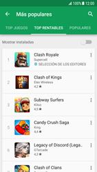 Samsung Galaxy S7 - Android Nougat - Aplicaciones - Descargar aplicaciones - Paso 9