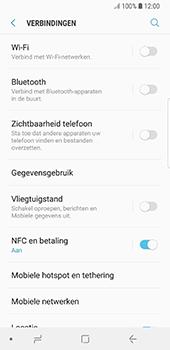 Samsung Galaxy S8 - Android Oreo (SM-G950F) - Bluetooth - Aanzetten - Stap 4
