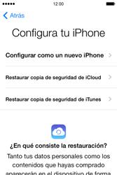 Apple iPhone 4S iOS 7 - Primeros pasos - Activar el equipo - Paso 9