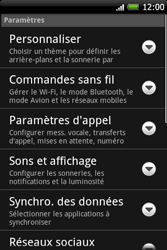 HTC A6262 Hero - Internet - Configuration manuelle - Étape 4