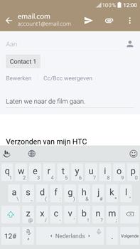 HTC HTC Desire 825 - E-mail - e-mail versturen - Stap 8