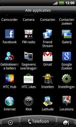 HTC A9191 Desire HD - Internet - hoe te internetten - Stap 2