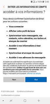 Samsung Galaxy J6 - E-mails - Ajouter ou modifier votre compte Outlook - Étape 9