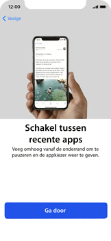 Apple iPhone X - Toestel - Toestel activeren - Stap 40