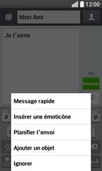 LG F70 - Contact, Appels, SMS/MMS - Envoyer un MMS - Étape 10