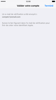 Apple Apple iPhone 6 Plus iOS 10 - Applications - Créer un compte - Étape 24