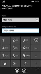 Nokia Lumia 735 - Contact, Appels, SMS/MMS - Ajouter un contact - Étape 6