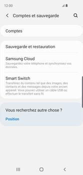 Samsung Galaxy S10e - Données - créer une sauvegarde avec votre compte - Étape 5