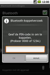 Samsung I5700 Galaxy Spica - Bluetooth - headset, carkit verbinding - Stap 8