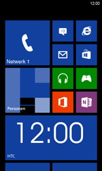 HTC Windows Phone 8S - Bellen - in het buitenland - Stap 9