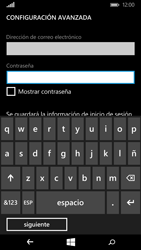 Microsoft Lumia 640 - E-mail - Configurar correo electrónico - Paso 9