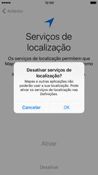Apple iPhone 6s iOS 10 - Primeiros passos - Como ligar o telemóvel pela primeira vez -  11