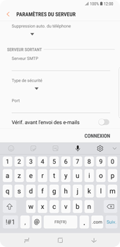 Samsung Galaxy Note9 - E-mail - Configurer l
