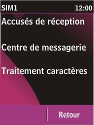 Nokia C2-03 - SMS - Configuration manuelle - Étape 7