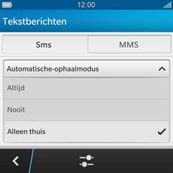 BlackBerry Q10 - MMS - probleem met ontvangen - Stap 9