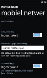 Nokia Lumia 710 - Internet - Internet gebruiken in het buitenland - Stap 8