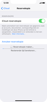 Apple iPhone X - Device maintenance - Back up - Stap 13