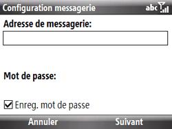 HTC S521 Snap - E-mail - Configuration manuelle - Étape 5