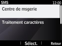 Nokia Asha 210 - SMS - Configuration manuelle - Étape 7