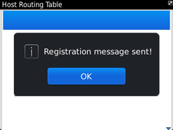 BlackBerry 9790 Bold - Settings - Configuration message received - Step 8