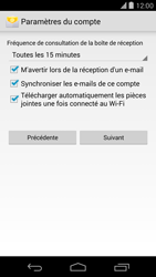 LG D821 Google Nexus 5 - E-mail - Configurer l