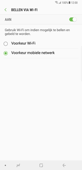 Samsung Galaxy Note 8 - Android Oreo - Bellen - bellen via wifi (VoWifi) - Stap 8