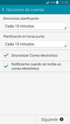 Samsung G850F Galaxy Alpha - E-mail - Configurar correo electrónico - Paso 16