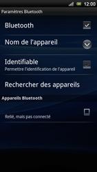 Sony Ericsson Xperia Neo V - Bluetooth - connexion Bluetooth - Étape 12
